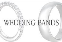 Wedding Rings for a Lifetime / A wedding band is a ring you'll wear for the rest of your life to show your commitment, choose something you love.