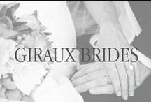 Giraux Brides / A Collection of some of our own Giraux Fine Jewelry Brides & Grooms