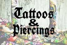 TATTOOS & PIERCINGS! / PIN YOUR FAVOURITE TATTOOS & PIERCINGS HERE! ! COMMENT TO JOIN ❤ INVITE YOUR FRIENDS ❤
