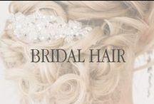 Wedding Hair Styles / From flowing waves, to swept up locks, here are a few hairstyles for your wedding.