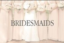 Dolled up Bridesmaids