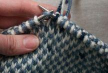 Knitting technics/stitches