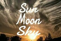 SUN•MOON•SKY!☼ / THE SUN•THE MOON•THE SKY! COMMENT TO JOIN ❤ INVITE YOUR FRIENDS ❤  / by Marlous📌