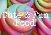 CUTE & FUN FOODZ! / CUTE & FUN FOOD! ❤ COMMENT TO JOIN ❤ INVITE YOUR FRIENDS ❤  / by Marlous ❤