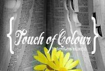 {TOUCH OF COLOUR} / JUST A TOUCH OF COLOUR.  COMMENT TO JOIN ❤ INVITE YOUR FRIENDS ❤