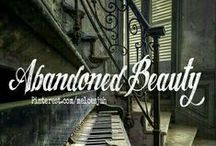 ABANDONED BEAUTY... / **NEW BOARD** ALL THINGS ABANDONED. COMMENT TO JOIN ❤ INVITE YOUR FRIENDS ❤