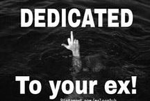 DEDICATED TO YOUR EX! / DEDICATED TO YOUR EX! LET IT ALL OUT! COMMENT TO JOIN ❤ INVITE YOUR FRIENDS ❤