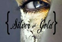 {SILVER & GOLD} / **NEW BOARD** SILVER & GOLD. COMMENT TO JOIN ❤ INVITE YOUR FRIENDS ❤  / by Marlous ❤