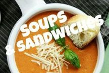 SOUPS & SANDWICHES / **NEW BOARD** SOUPS & SANDWICHES! COMMENT TO JOIN ❤ INVITE YOUR FRIENDS ❤