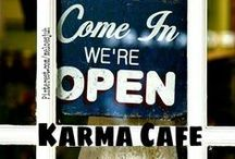KARMA CAFE ✴ / **NEW BOARD** ALL ABOUT KARMA! COMMENT TO JOIN ❤ INVITE YOUR FRIENDS ❤