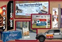 Signs and Effective Advertising / Effective advertising for your business, large or small.