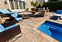 OUTDOOR LIVING / patios, outdoor living areas, fireplaces, firepits, mulch, topsoil