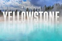Yellowstone National Park / Three of the five entrances to Yellowstone National Park are located in Montana.  Discover it for yourself and find your once-in-a-lifetime moment.  / by Billings-Montana's Trailhead