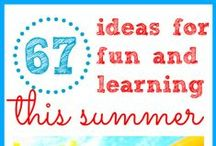 Summer Learning / Keep summer learning loss at bay with these great activities and learning exercises!