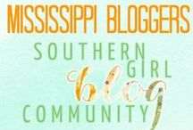 """::Mississippi:: Southern Girls Blog / A collaborative board of Southern Girl Blog Community's MISSISSIPPI bloggers. CONTRIBUTOR RULES: (1) To join the board, email southerngirlsblog@gmail.com with """"SGBC GROUP board"""" in the subject line (2) No repinning the same content (3) ONLY 3 pins daily (4) NO GIVEAWAYS OR PROMOTIONAL POST ::PLEASE ONLY PIN YOUR ORIGINAL CONTENT:: SGBC reserves the right to delete any post that break the above guidelines without notice. Thanks for being a part of the SGBC Community!  / by Southern Girl Blog Community"""