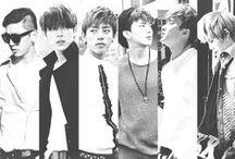 B.A.P / South Korean hip-hop group; formed: 2011; TS Entertainment; members: Yong Guk, Him Chan, Dae Hyun, Young Jae, Jong Up, Zelo