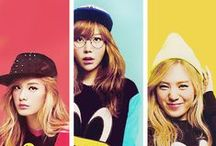 Orange Caramel / unit group from pop female idol group After School; formed: 2010; Pledis Entertainment; this unit was formed with the third generation members: Nana, Raina, Lizzy