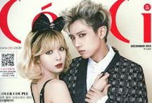 Trouble Maker / South Korean Duo; formed: 2011; Cube Entertainment; members: Hyuna (4Minute) and Jang Hyun-seung (B2ST)