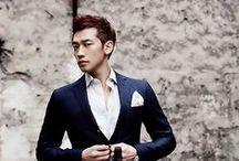 Bi/Rain / Jung Ji-hoon; born: 25 June 1982; South Korean singer-songwriter, actor and music producer