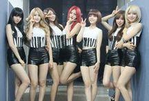 AOA / South Korean idol girl group; formed: 2012; FNC Entertainment; members: Choa, Jimin, Yuna, (Youkyung,) Chanmi, Hyejeong, Seolhyun, Mina