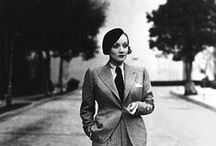 SUITS / the development of masculine wardrobe in female fashion