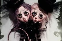 Anima ex Manus - Handmade art dolls / Anima ex Manus - Victorian Gothic Dark Curious Handmade Art Dolls and Haunting Stories