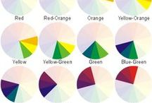 Colour! / A few useful resource for getting your head round colour theory. Although it has to be said that colour is subjective - if you like, it's right!