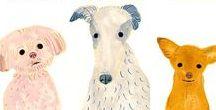 I love Illustration_dogs