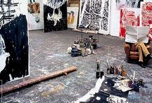 Artists in their STUDIOS