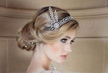 Hair Accessories & Hair Styles / Ideas and inspiration for beautiful bridal hair styles and wedding hair accessories.