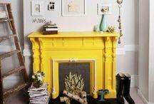 fireplace / fire