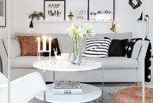 scandinavian home / Scandinavian and nordic home design
