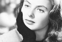 old hollywood / Old Hollywood women I love including: Lauren Bacall, Elizabeth Taylor, Vivien Leigh, Ingrid Bergman, Ava Gardner, etc! / by betty bacall