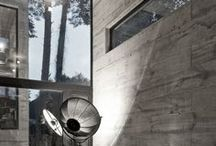 concrete / Concrate  interieurs brutalism