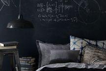 chalkboard wall / wall