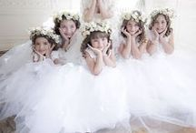 Flower Girls / Darling flower girl ideas and inspiration for the wedding day.