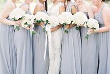 Bridesmaids / Beautiful bridesmaids dresses, ideas and inspiration for your wedding day