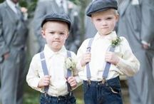 Ring Bearers / Great ideas for the ring bearers