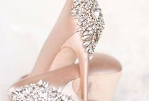 Sole Mates / Inspiration and ideas for elegant wedding day heels and stylish casual shoes for the bride and her bridesmaids.