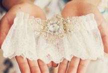 Gorgeous Garters / Beautiful bridal garters for your wedding day