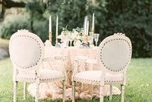 For the Romantic / Romantic wedding ideas and inspiration for a beautiful ceremony and reception.