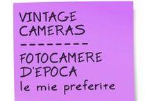 VINTAGE CAMERAS - FOTOCAMERE D'EPOCA / MY FAVOURITE CAMERAS - LE MIE FOTOCAMERE PREFERITE