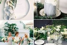 Gray Color Combinations / Gray color combinations, ideas and inspiration for your wedding day