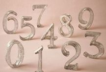 Take a Seat / Escort cards, table assignments and table number ideas for your wedding