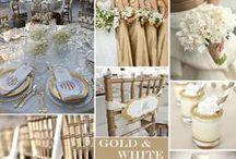 Gold & Metallic Wedding Ideas