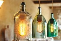 Creative Decorating Ideas / Bottles | Candles | Styling