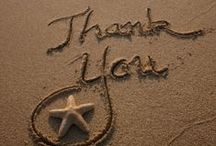 Thank-you, Gracias, Merci! / Thanking your wedding guests