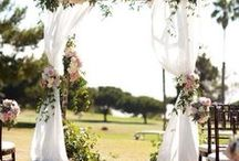A Walk Down the Aisle / Ideas and inspiration for decorating the aisle you will walk on your wedding day.