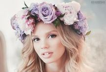 The Crowning Glory / Amazing veils, fabulous headpieces and gorgeous flower crowns for your wedding