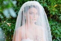 Veils / Beautiful bridal veils, mantillas and birdcage face veils for your wedding day
